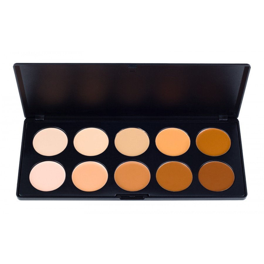 Rc Cosmetics Makeup Store 10 Color Camouflage And Concealer Palette