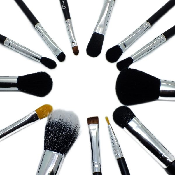 Professional 15 Piece Make up Synthetic Brushes Set