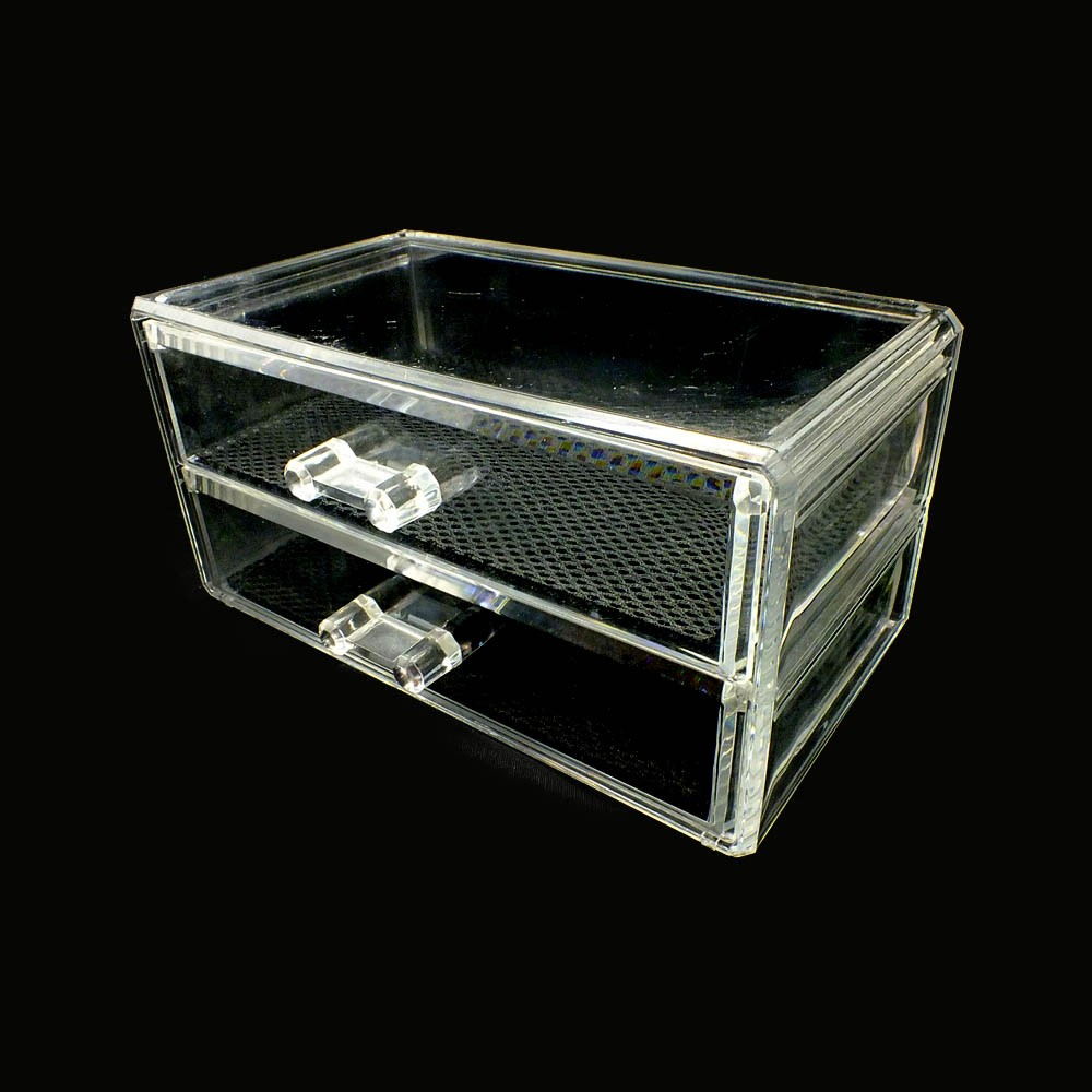 Two Drawers Makeup Organizer