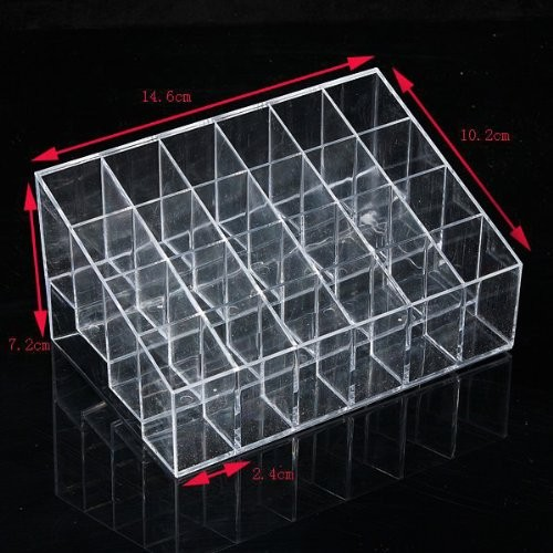 Lipstick or lip-gloss organizer
