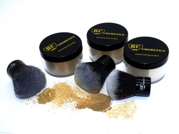 Mineral Finishing Powder Makeup Set