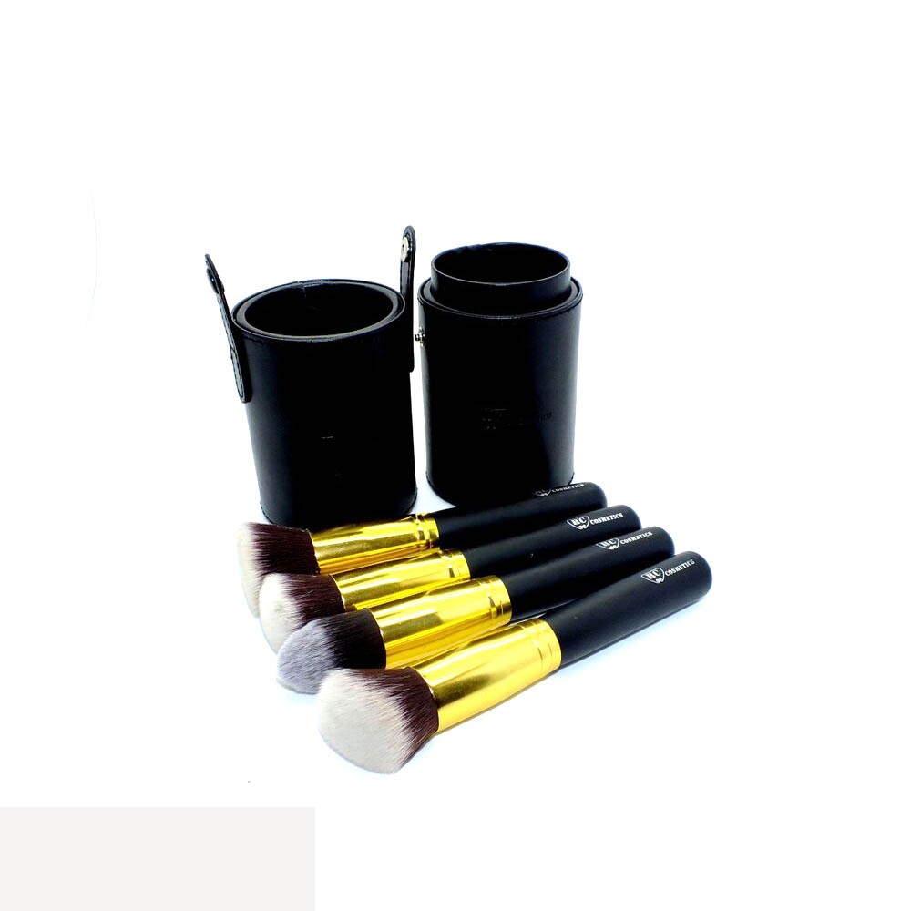 Big Leather Brush Cup Holder Case From Royal Care Cosmetics