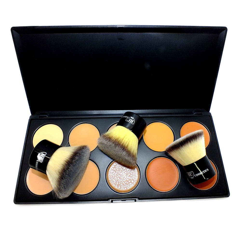 Contouring Pro Kit+Kabuki Brushes