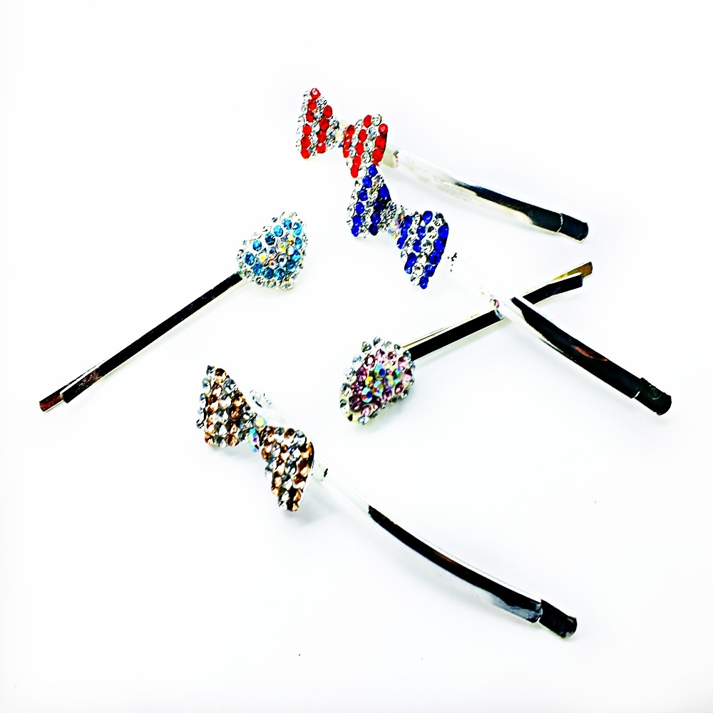 Color Crystal Hair Pins