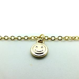 Fashion Belly Chain with Smiley Charm
