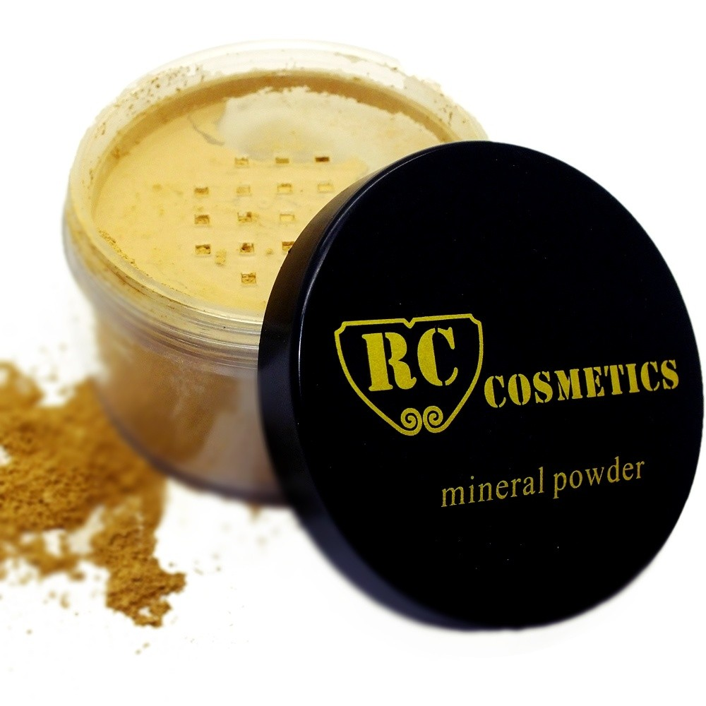Royal Care Cosmetics MINERAL FINISHING POWDER Deep Honey Beige #5