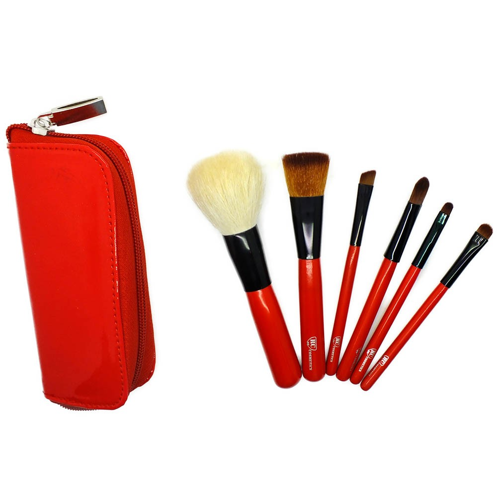 Red Caviar 6 Piece Brush Set