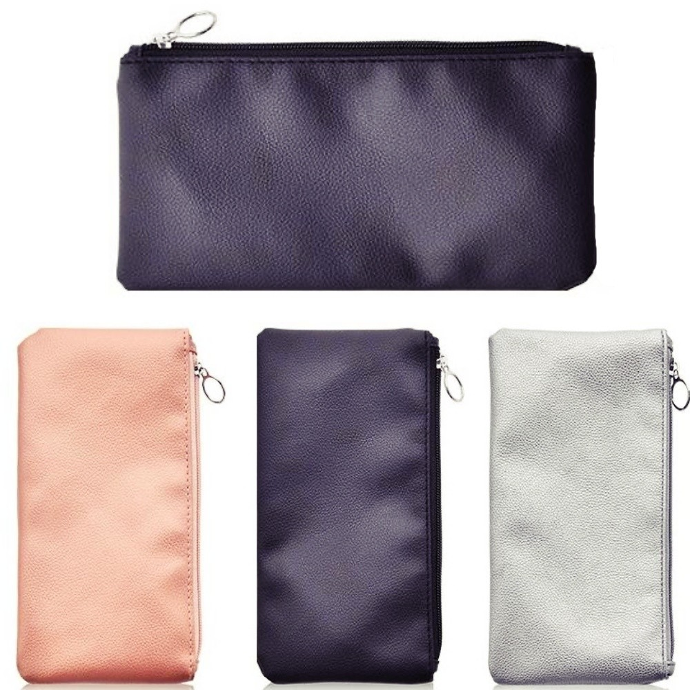 Royal Care Cosmetics Small Beauty Pouch Soft Portable Makeup Bag