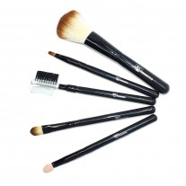 Vanilla Bean 5 PiecesTravel Makeup Brush Set