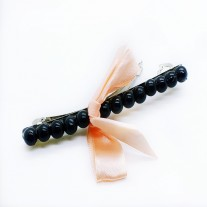 Bow hair pin