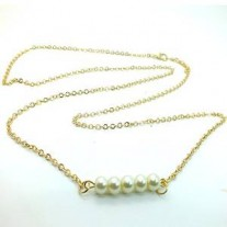 Fashion Women's Gold Bikini Belly Body Chain Waist Link Sexy Imitation Pearls Necklace
