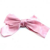 Girls Bow Tie, Pinwheel Hair Bow Alligator Clips, Barrettes