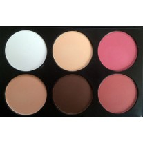 6 Color Contour and Blush Palette