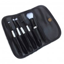 Pinup Girl 5 Piece Professional Makeup Brush Travel Set