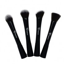Premium Black Kabuki Brush Set