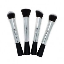 Premium Platinum Kabuki Brush Set