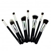 Face and Contour Kabuki Silver Brush Set of 8